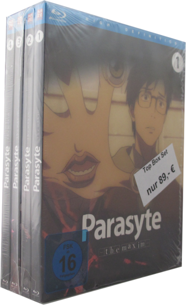 Parasyte - the Maxim - komplett Set 1 - 4 Blu-Ray
