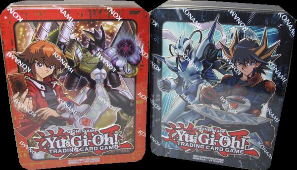 Yu-Gi-Oh! Mega Tin 2018 Set: Jaden & Yusei