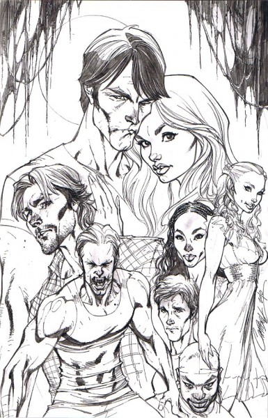 True Blood #1 Variant Cover