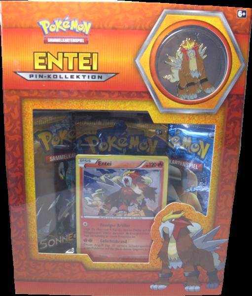 Pokemon Entei Pin-Kollektion