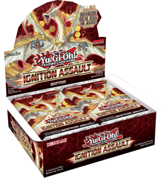 Yu-Gi-Oh! Ignition Assault Booster Display