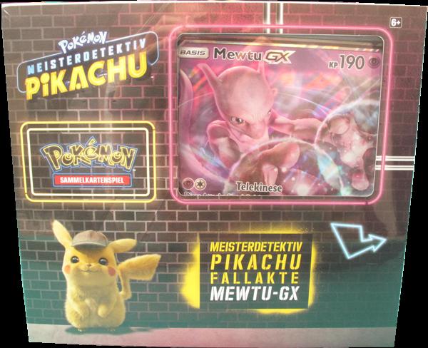 Pokemon Meisterdetektiv Pikachu Fallakte Mewtu GX