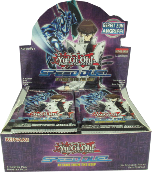Yu-Gi-Oh! Speed Duel Attack from the Deep Booster Display