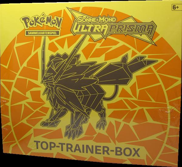 Pokemon Ultra-Prisma Top-Trainer Box BLAU Deutsch