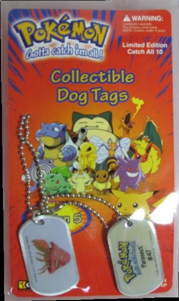 Pokemon Dog Tag Parasect #47