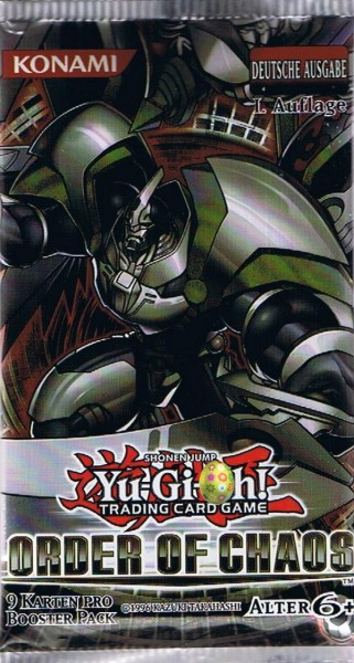 Yu-Gi-Oh! Order of Chaos Booster deutsch
