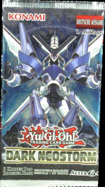 Yu-Gi-Oh! Dark Neostorm Booster deutsch