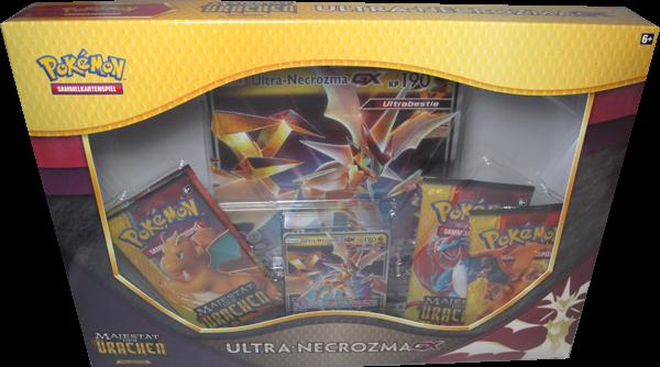 Pokemon Majesät der Drachen Ultra-Necrozma-GX Kollektion