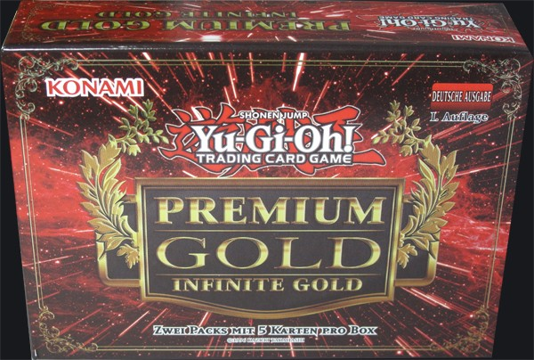 Yu-Gi-Oh! Premium Gold: Infinity Gold