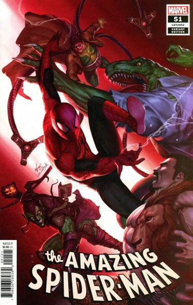 Amazing Spider-Man Vol 5 #51 Inhyuk Lee Variant Cover (1:25)
