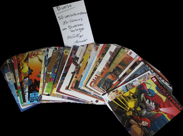 50er US-Set Diverse Comics