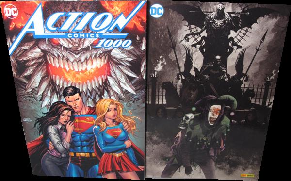 Batman Metal #01 Variant Cover + Superman Special: Action Comics 1.000 - Exklusives Comic Planet Var