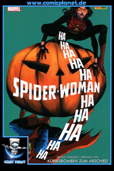 Spider-Woman Band 3: Kürbisbomben zum Abschied