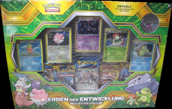 Pokemon Erben der Entwicklung Pin-Kollektion