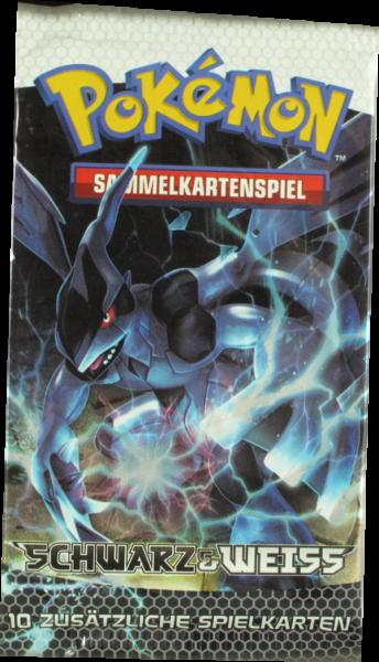 Pokemon Schwarz & Weiss Booster