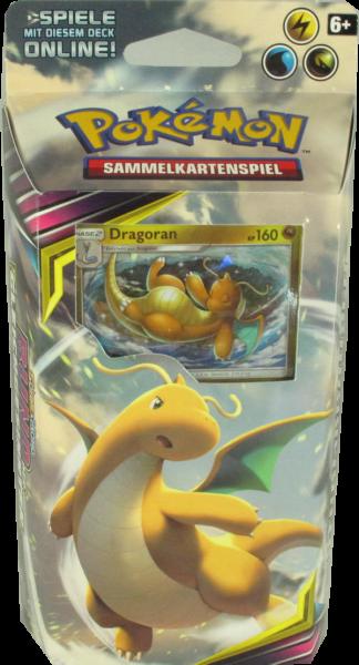 Pokemon Sonne & Mond Bund der Gleichgesinnten Sturmbrausen Themendeck